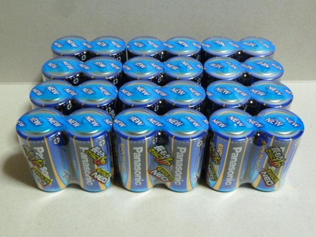 (36) パナソニック エボルタネオ アルカリ乾電池 単1形24本