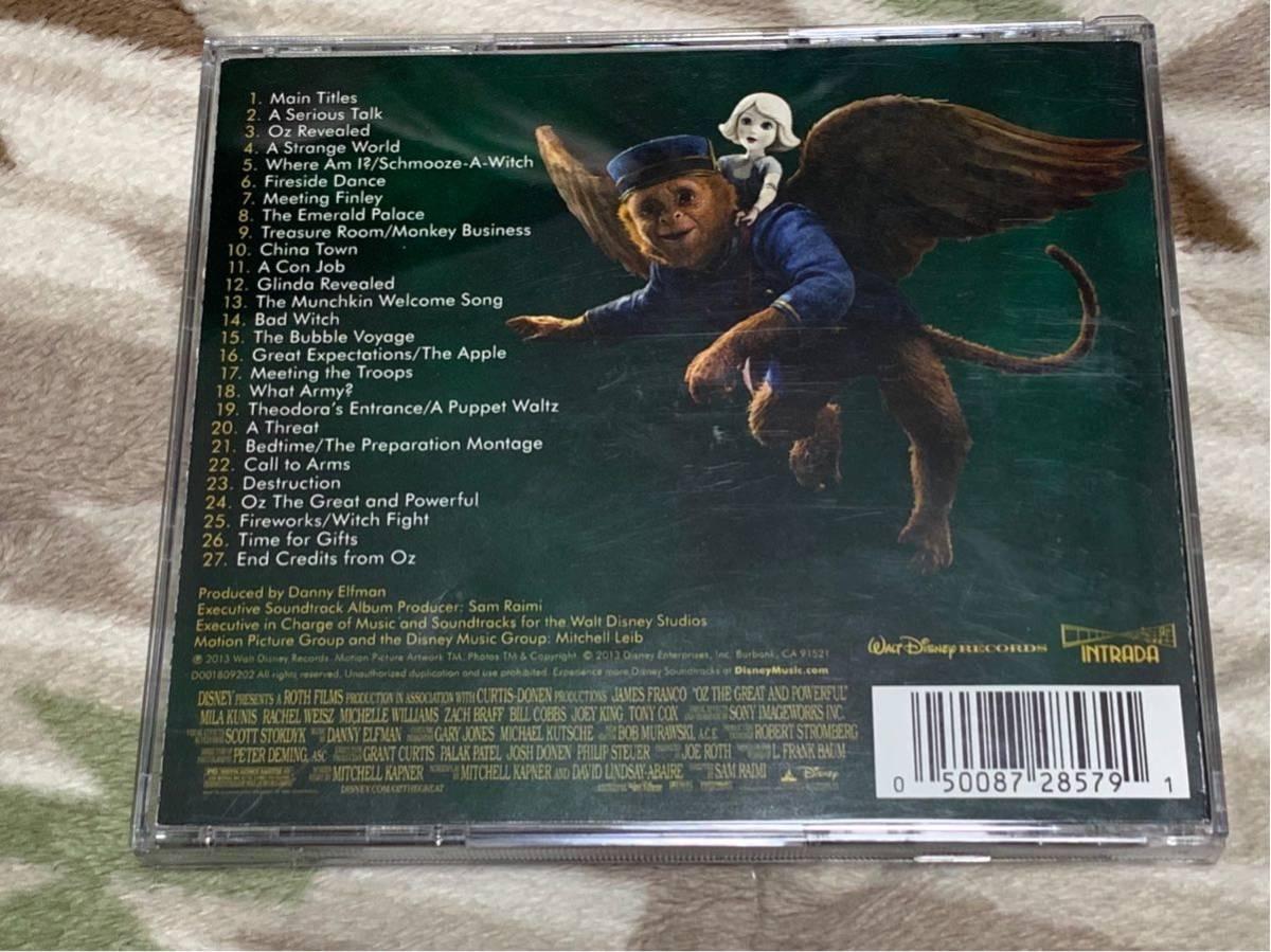 CD「オズ はじまりの戦い Oz: the Great and Powerful」 ダニー・エルフマン 即決!_画像2