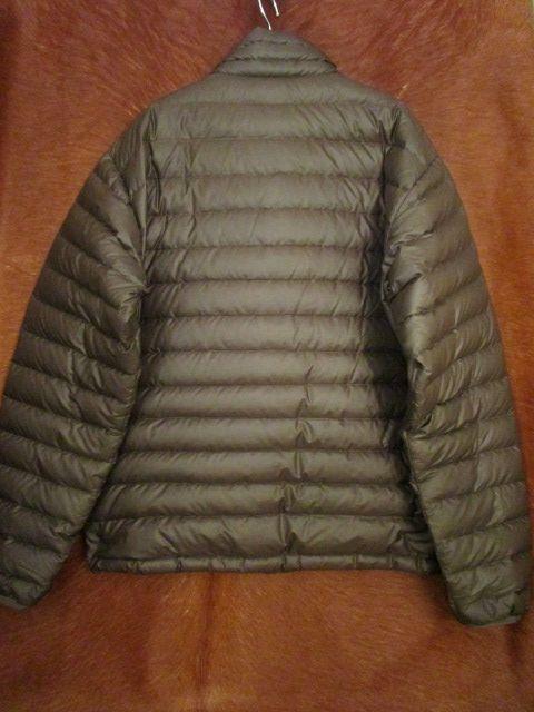パタゴニア Patagonia 84673 FA13 茶 ブラウン ダウン セーター ジャケット M 美品ながら小疵あり_画像2