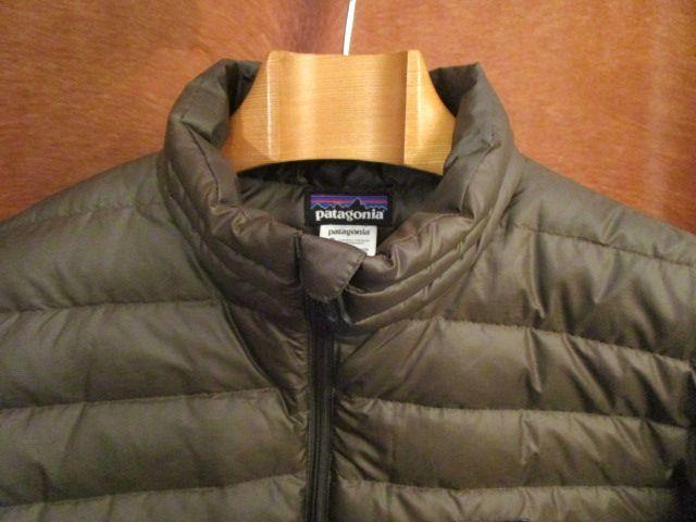 パタゴニア Patagonia 84673 FA13 茶 ブラウン ダウン セーター ジャケット M 美品ながら小疵あり_画像3