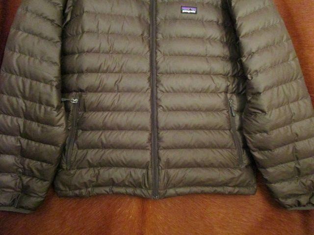パタゴニア Patagonia 84673 FA13 茶 ブラウン ダウン セーター ジャケット M 美品ながら小疵あり_画像4