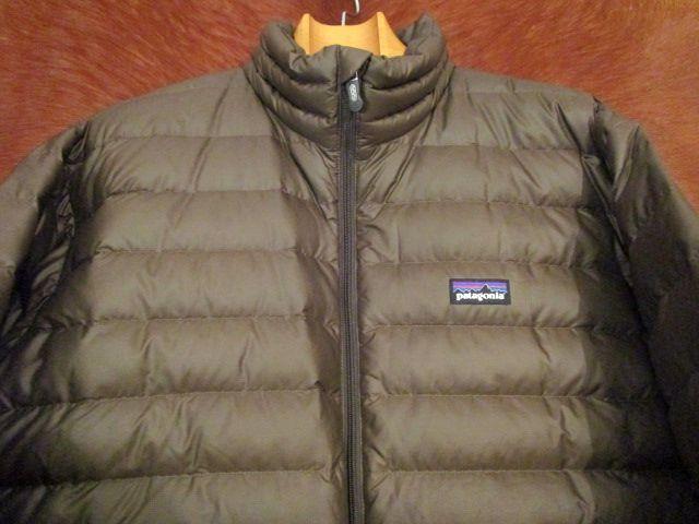 パタゴニア Patagonia 84673 FA13 茶 ブラウン ダウン セーター ジャケット M 美品ながら小疵あり_画像5