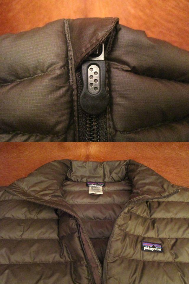 パタゴニア Patagonia 84673 FA13 茶 ブラウン ダウン セーター ジャケット M 美品ながら小疵あり_画像9