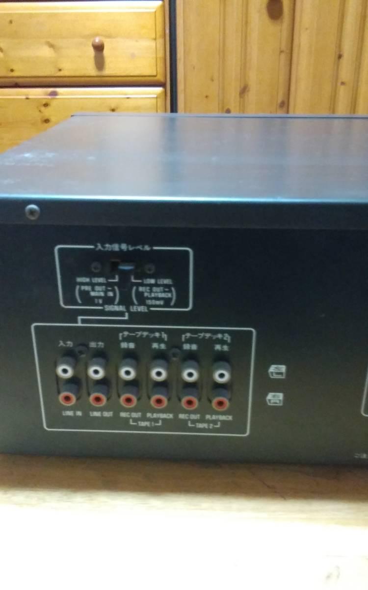 テクニクス イコライザー SH-8075_画像7