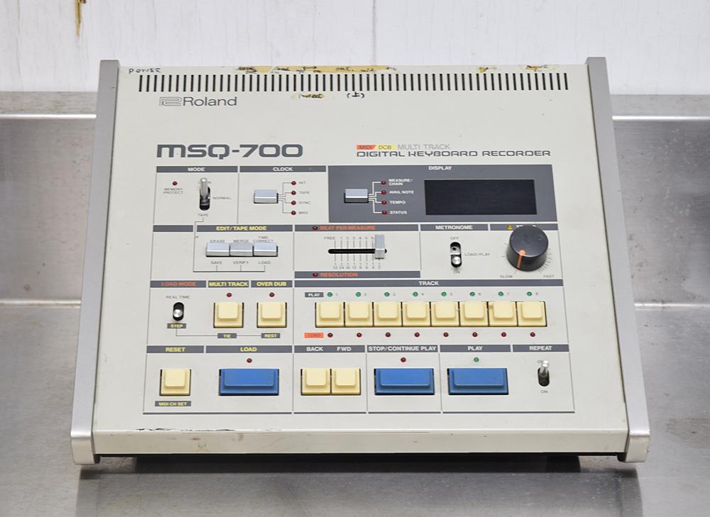 ★Roland/ローランド★MIDIシーケンサー/DCB マルチトラック デジタルキーボードレコーダー MSQ-700