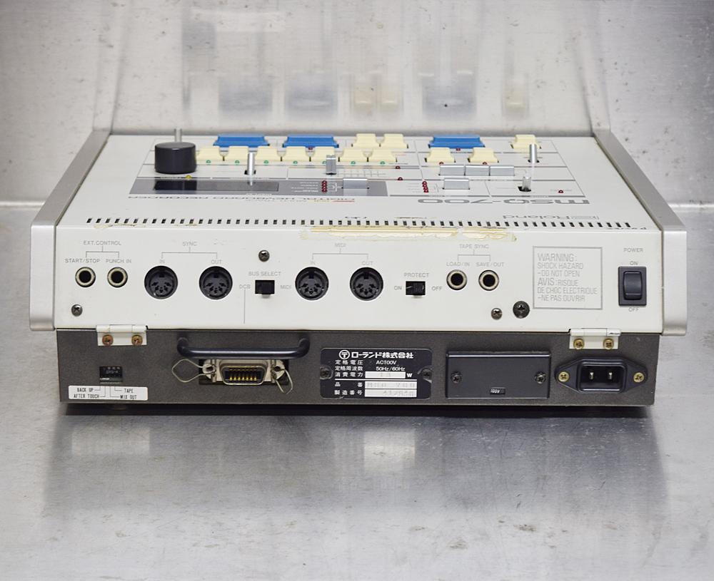 ★Roland/ローランド★MIDIシーケンサー/DCB マルチトラック デジタルキーボードレコーダー MSQ-700_画像4