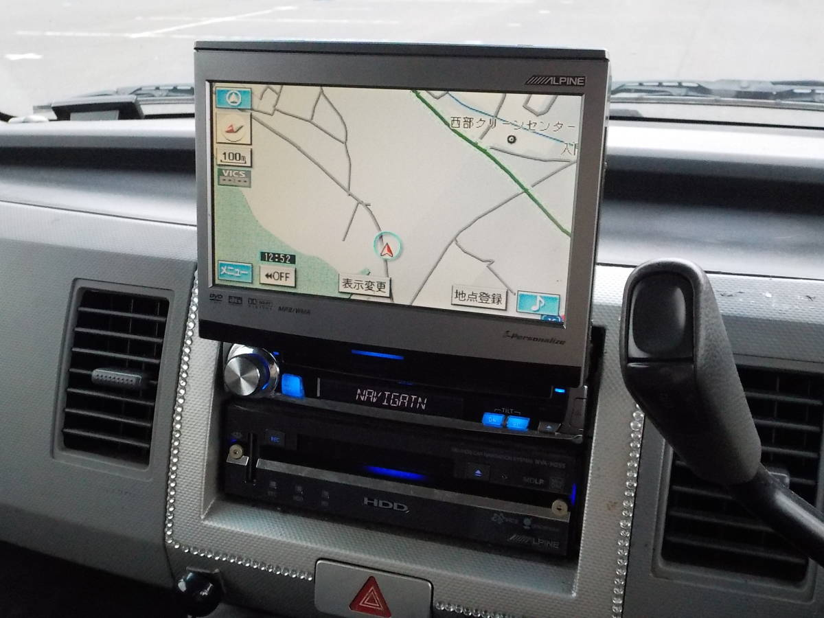 ワゴンR FX 平成17年式 車検32年4月まで 走行86900㎞ 実走行 HDDナビ キーレス 社外アルミ_画像8
