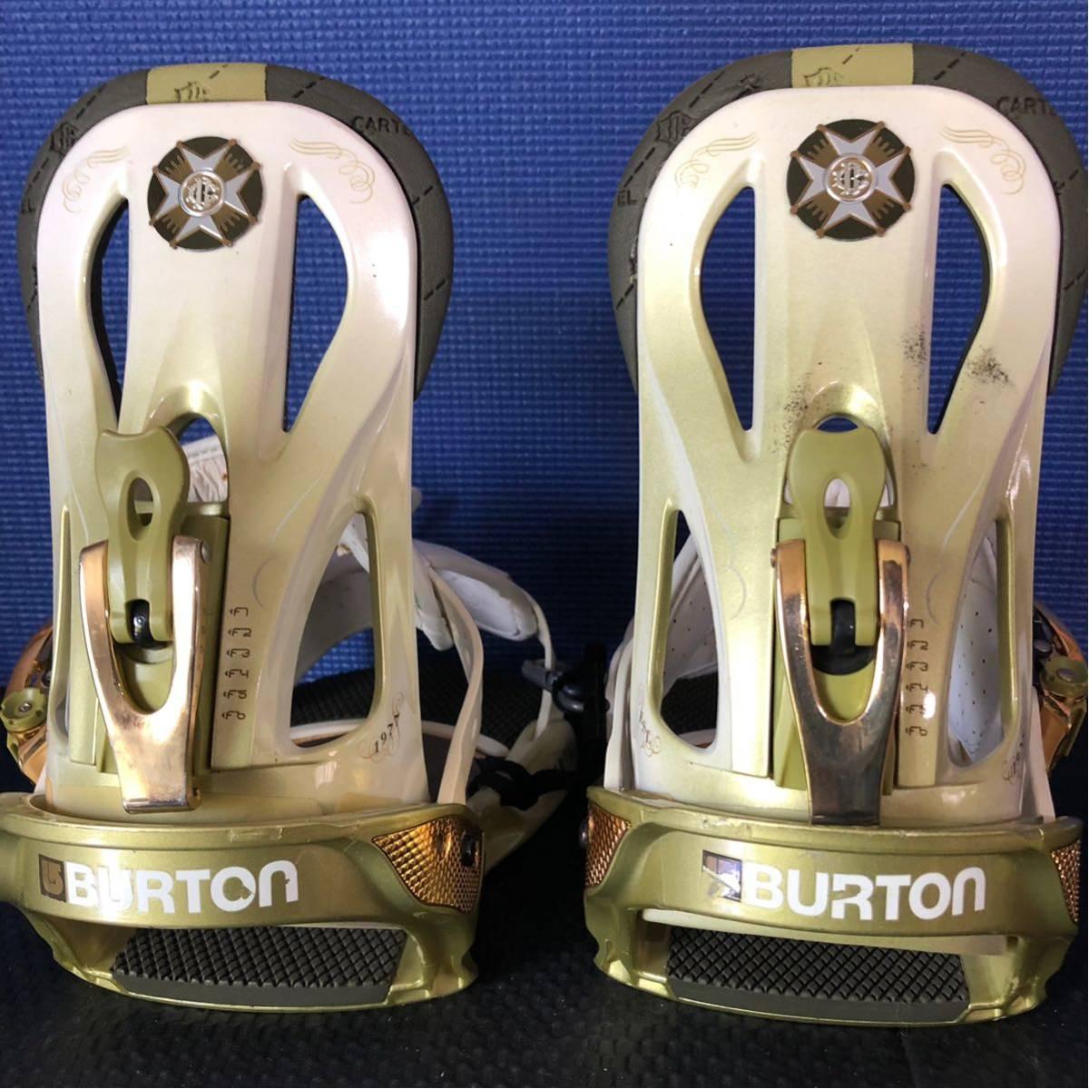 【BD010】激安!! BURTON (バートン) / モデル: CARTEL / サイズ: M / スノーボード・バインディング 初心者歓迎!!_画像3
