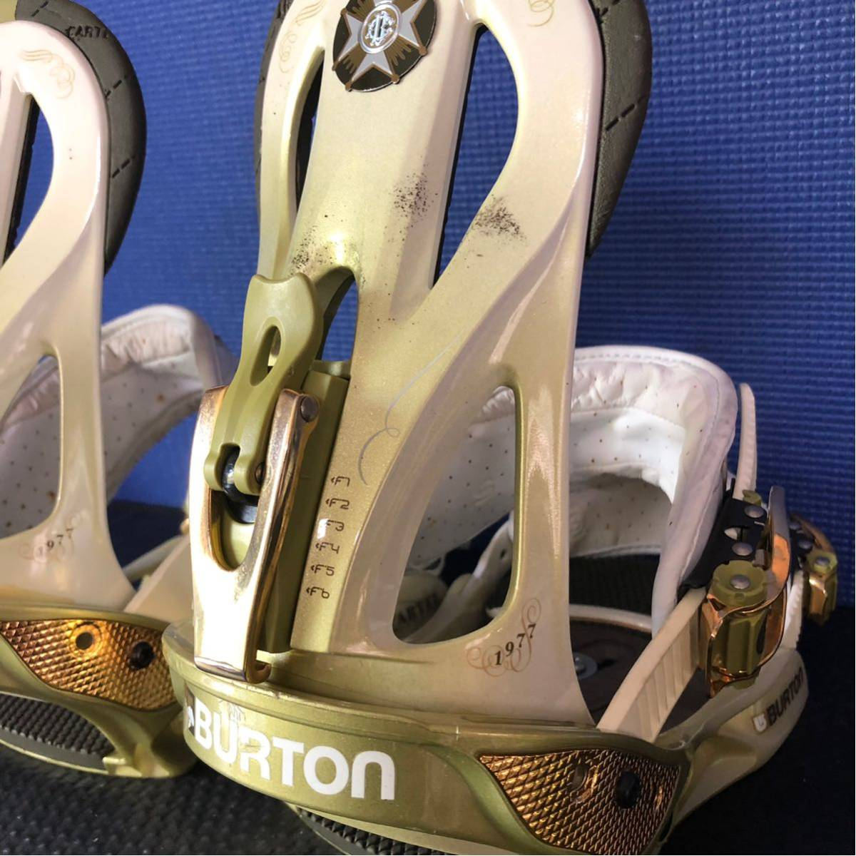 【BD010】激安!! BURTON (バートン) / モデル: CARTEL / サイズ: M / スノーボード・バインディング 初心者歓迎!!_画像4