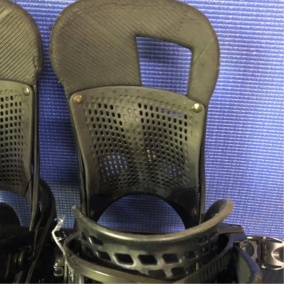 【BD013】激安!! BURTON (バートン) / モデル: CARTEL LTD / サイズ: M / スノーボード・バインディング 初心者歓迎!!_画像6