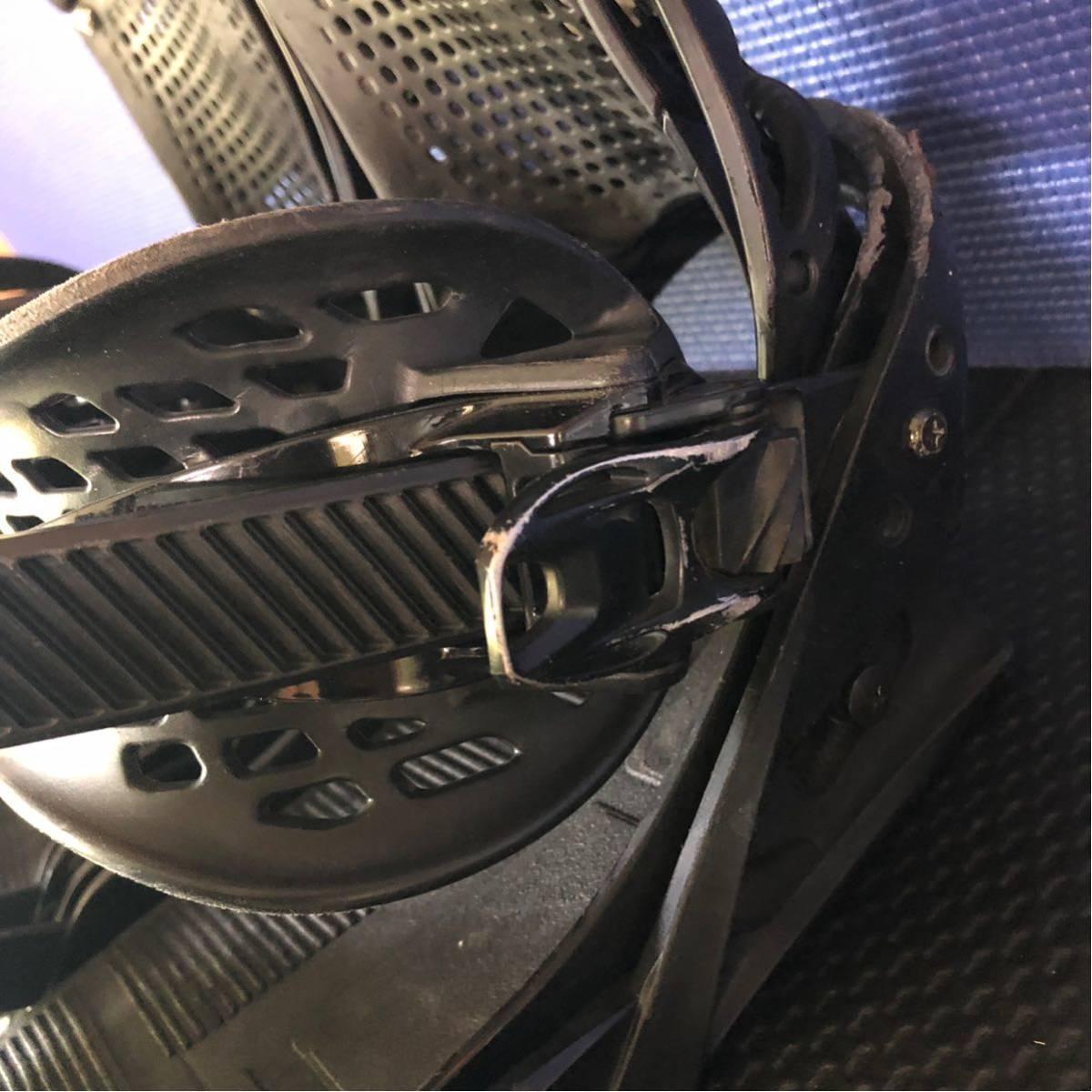 【BD013】激安!! BURTON (バートン) / モデル: CARTEL LTD / サイズ: M / スノーボード・バインディング 初心者歓迎!!_画像7