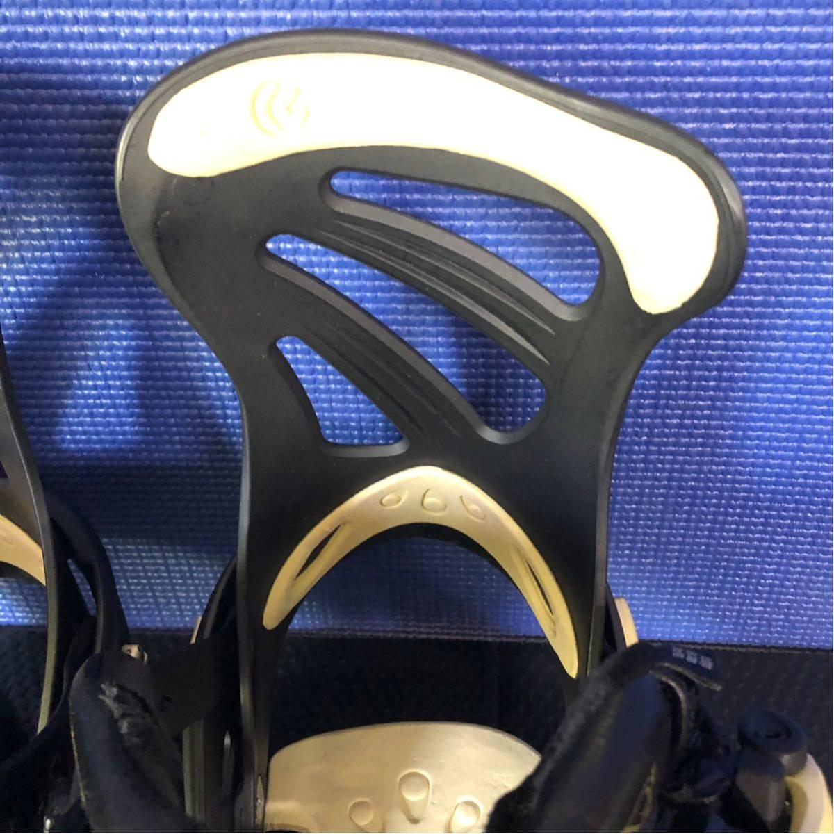 【BD014】激安!! FLUX (フラックス) / モデル: FLUX DS / サイズ: M / スノーボード・バインディング 初心者歓迎!!_画像8