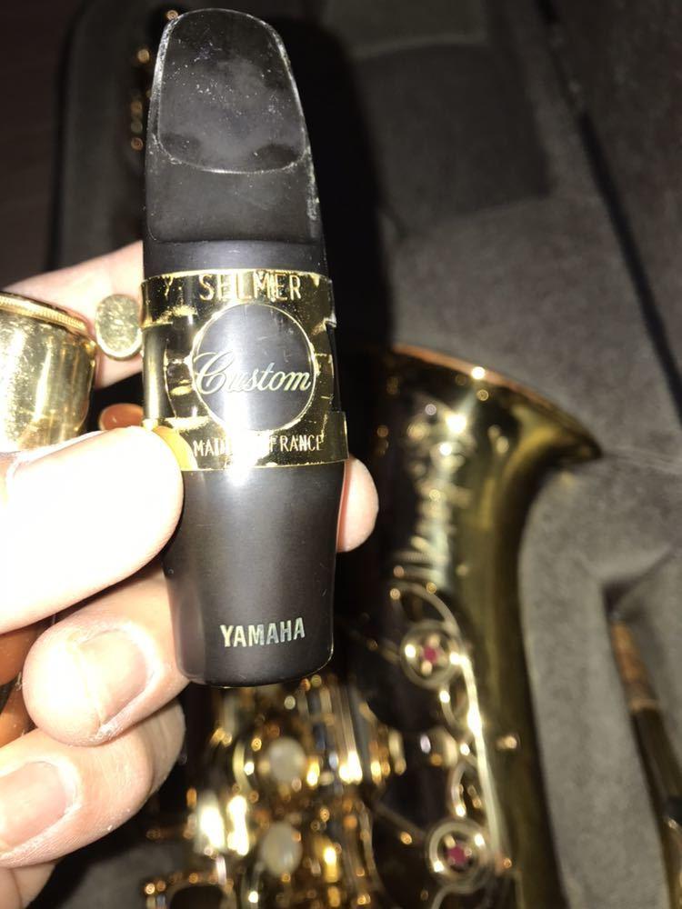ヤマハ YAMAHA Custom カスタム EX YAS-875EX アルト サックス 管楽器 ギグパックケース 彫金_画像7