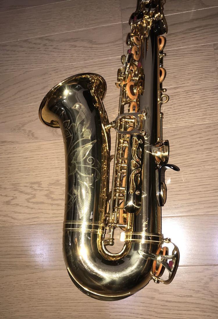 ヤマハ YAMAHA Custom カスタム EX YAS-875EX アルト サックス 管楽器 ギグパックケース 彫金_画像5