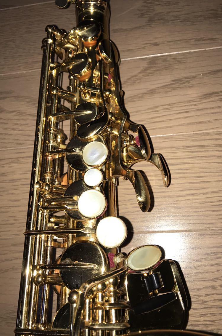 ヤマハ YAMAHA Custom カスタム EX YAS-875EX アルト サックス 管楽器 ギグパックケース 彫金_画像3