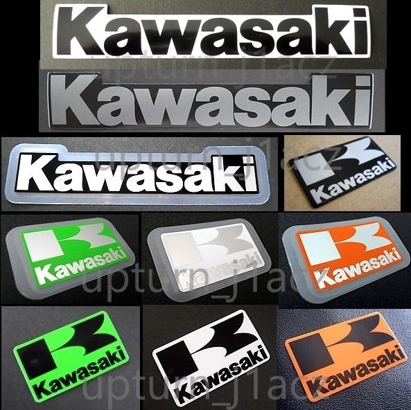 カワサキ純正ステッカー[ Kマーク ]銀/黒.KLX125.Ninja 250SL.ESTRELLA.Z650.ZRX1200 DAEG.Z900_画像2