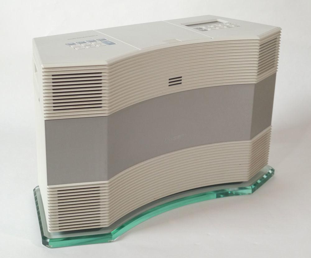 BOSE Acoustic Wave Music SystemⅡ ボーズ アコースティックウェーブ ミュージックシステムⅡ 専用ガラス台付 [ジャンク品扱]_画像2