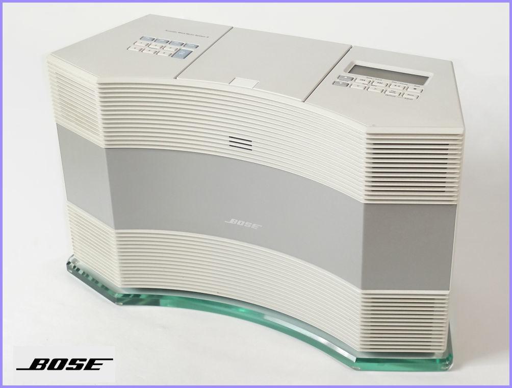 BOSE Acoustic Wave Music SystemⅡ ボーズ アコースティックウェーブ ミュージックシステムⅡ 専用ガラス台付 [ジャンク品扱]