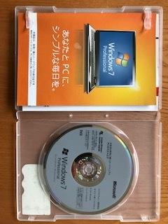1円スタートWindows 7 Pro 64bit DVD (OEM) プロダクトキー付
