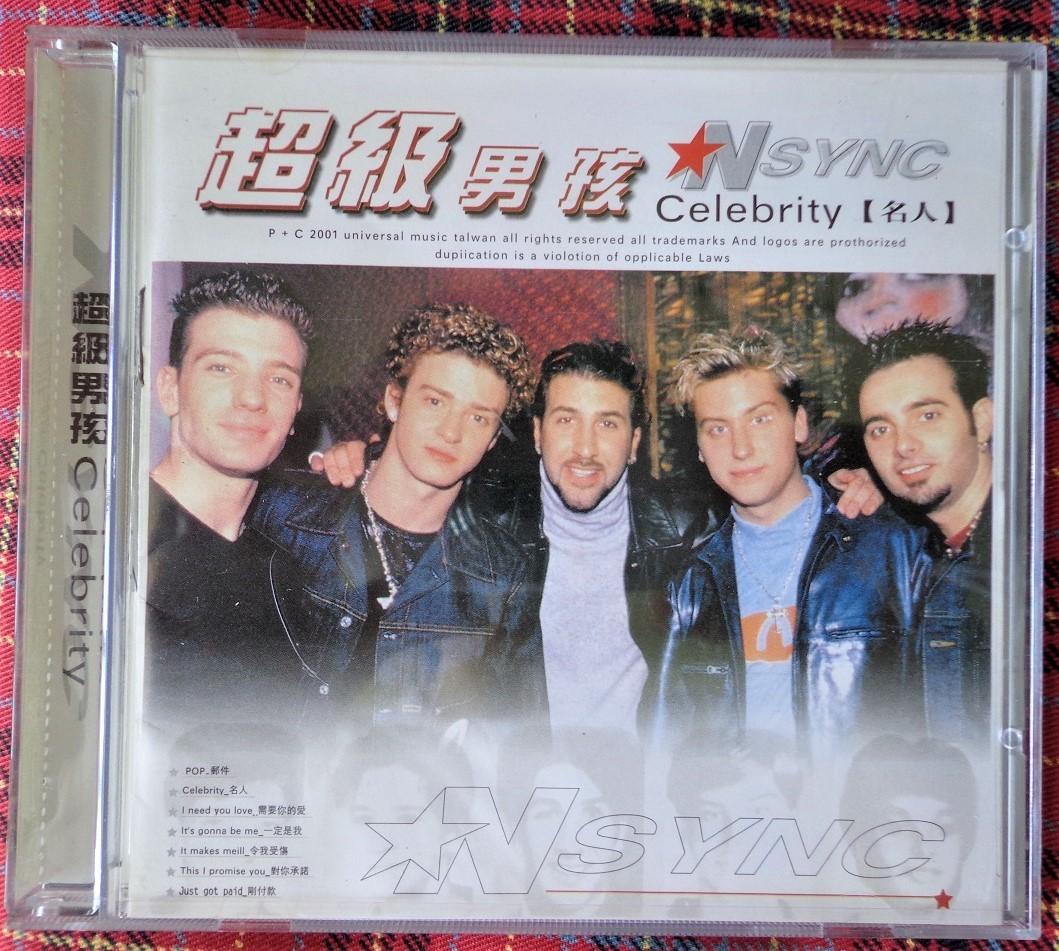 中古CD★NSYNC Celebrity★インシンク セレブリティ