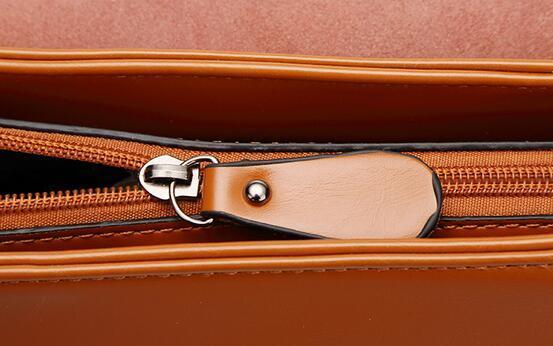 リュックサック デイパック大容量 レディース 肩掛け 斜め掛け バッグ PUレザー 多機能 ブラウン ショルダーバッグ 鞄 防水 超高品質_画像6