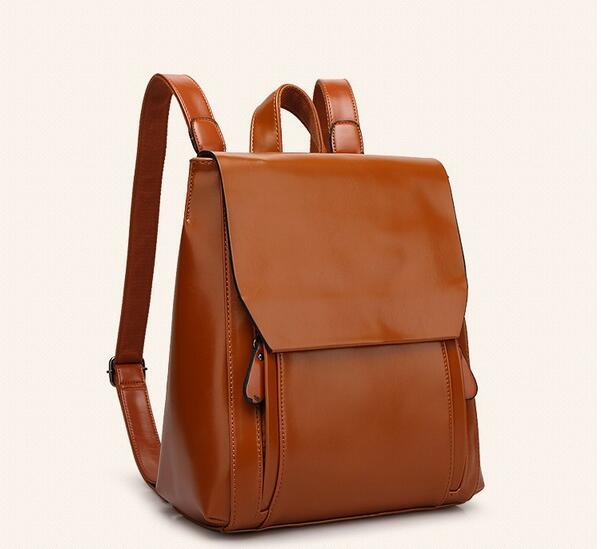 リュックサック デイパック大容量 レディース 肩掛け 斜め掛け バッグ PUレザー 多機能 ブラウン ショルダーバッグ 鞄 防水 超高品質_画像2