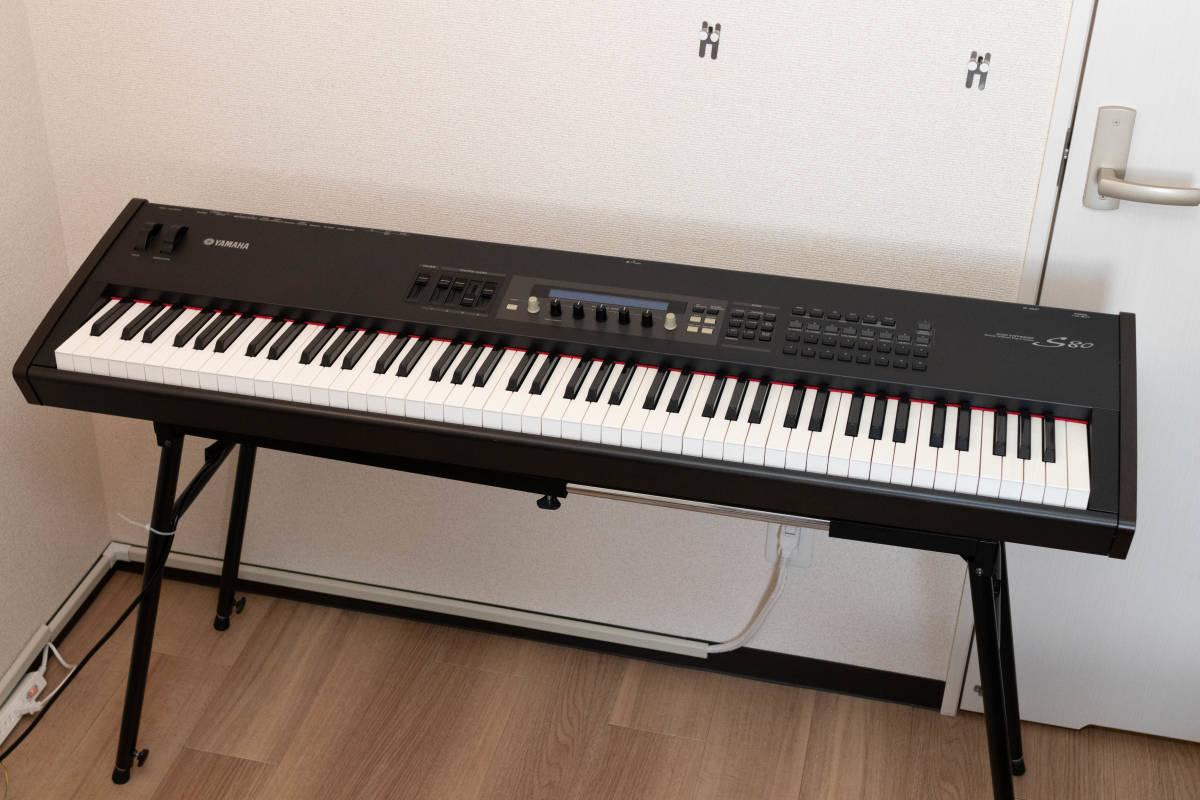 YAMAHA S80 88鍵 シンセサイザー ステージピアノ 中古