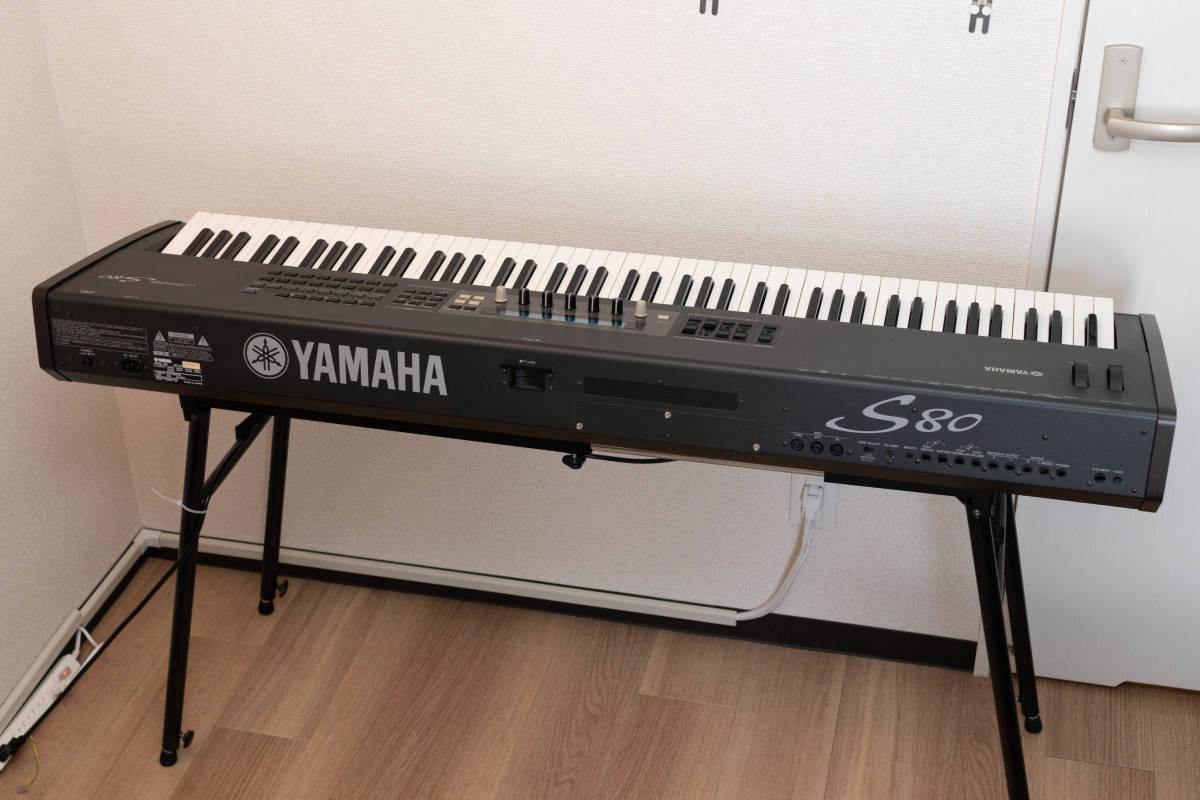 YAMAHA S80 88鍵 シンセサイザー ステージピアノ 中古_画像2