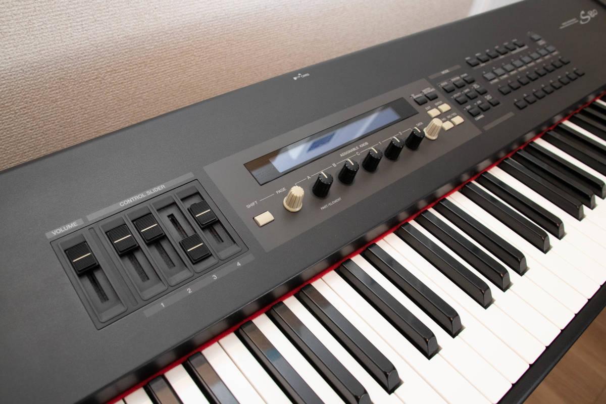 YAMAHA S80 88鍵 シンセサイザー ステージピアノ 中古_画像3