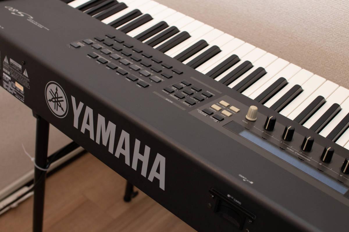 YAMAHA S80 88鍵 シンセサイザー ステージピアノ 中古_画像5