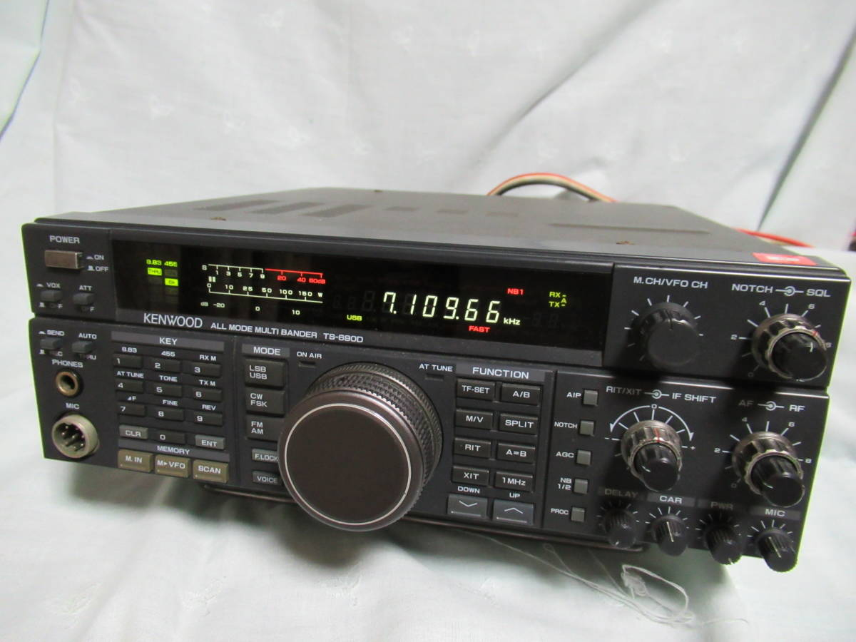 TS-690D HF+50MHz tuner built-in KENWOOD