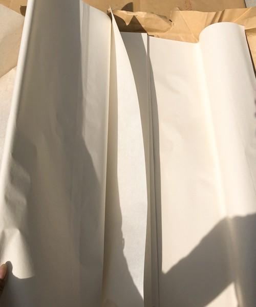 ☆9反 (900枚) 新民牌 揀選潔白玉版 綿料 四尺 単宣 401 和紙 半紙 書道具 中国紙 書画紙 手漉き_画像4