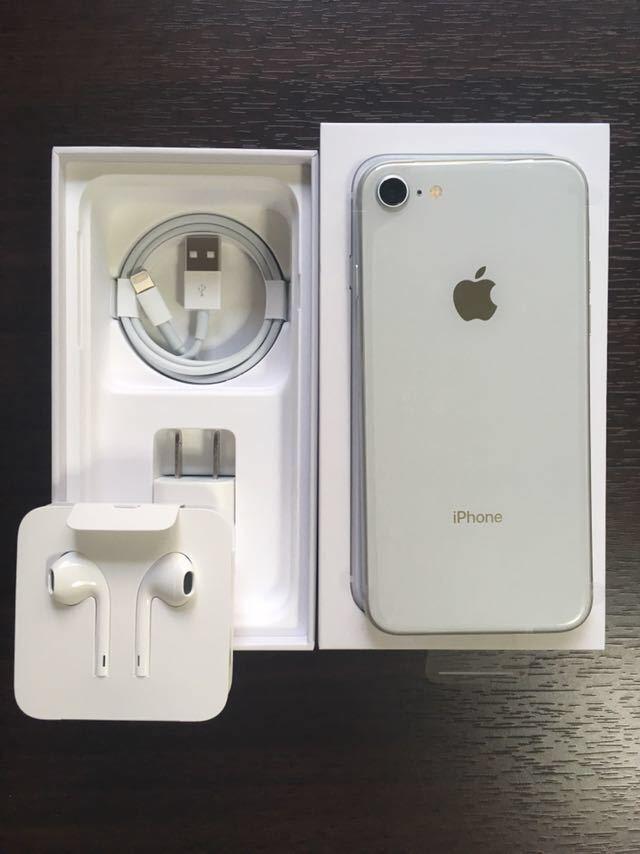 【新品未使用品】iPhone8 SIMフリー 64GB シルバー_画像2