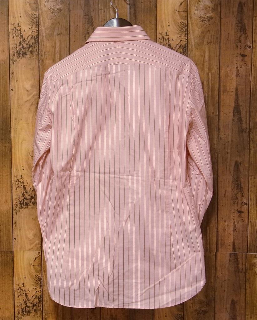 【15 1/2】五大陸 GOTAIRIKU ストライプ 長袖シャツ ドレスシャツ 39_画像2