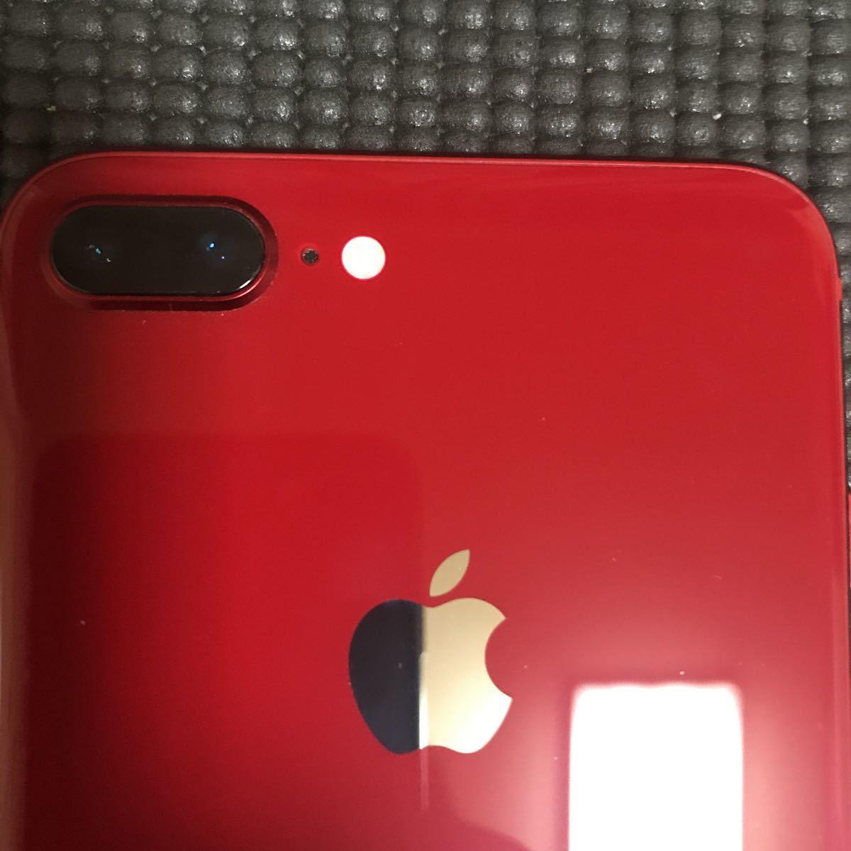 iPhone8 plus 64gb レッド 本体 au _画像2