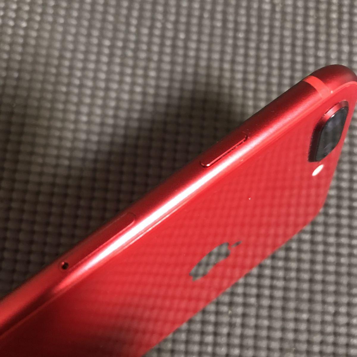 iPhone8 plus 64gb レッド 本体 au _画像7