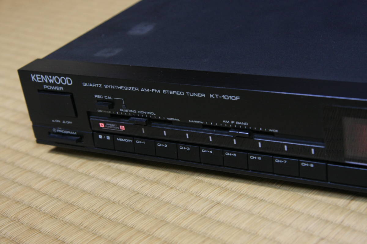 ケンウッド KENWOOD AM-FMステレオチューナー KT1010F_画像5