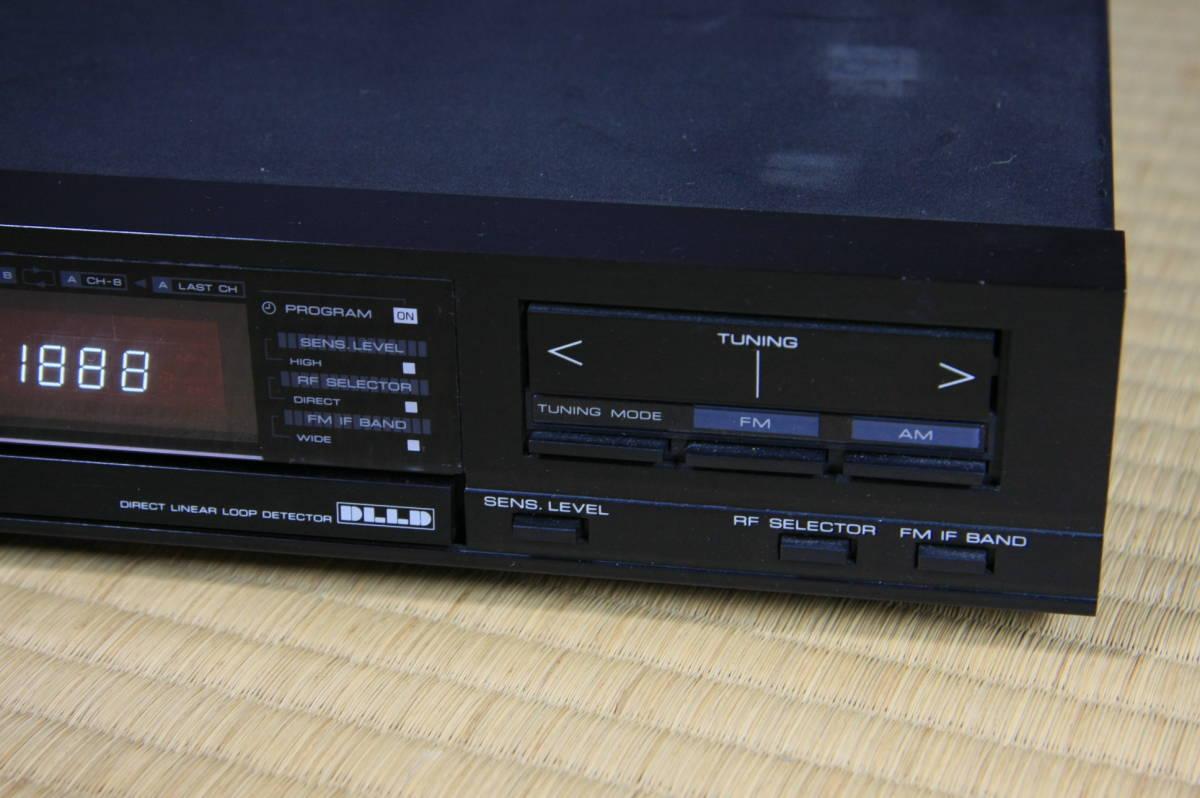 ケンウッド KENWOOD AM-FMステレオチューナー KT1010F_画像6