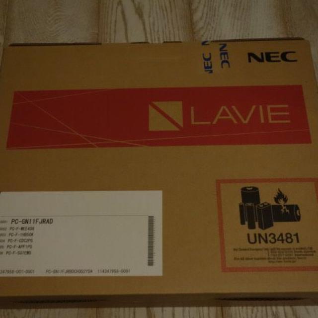 新品 NEC LAVIE Direct NS PC-GN11FJR