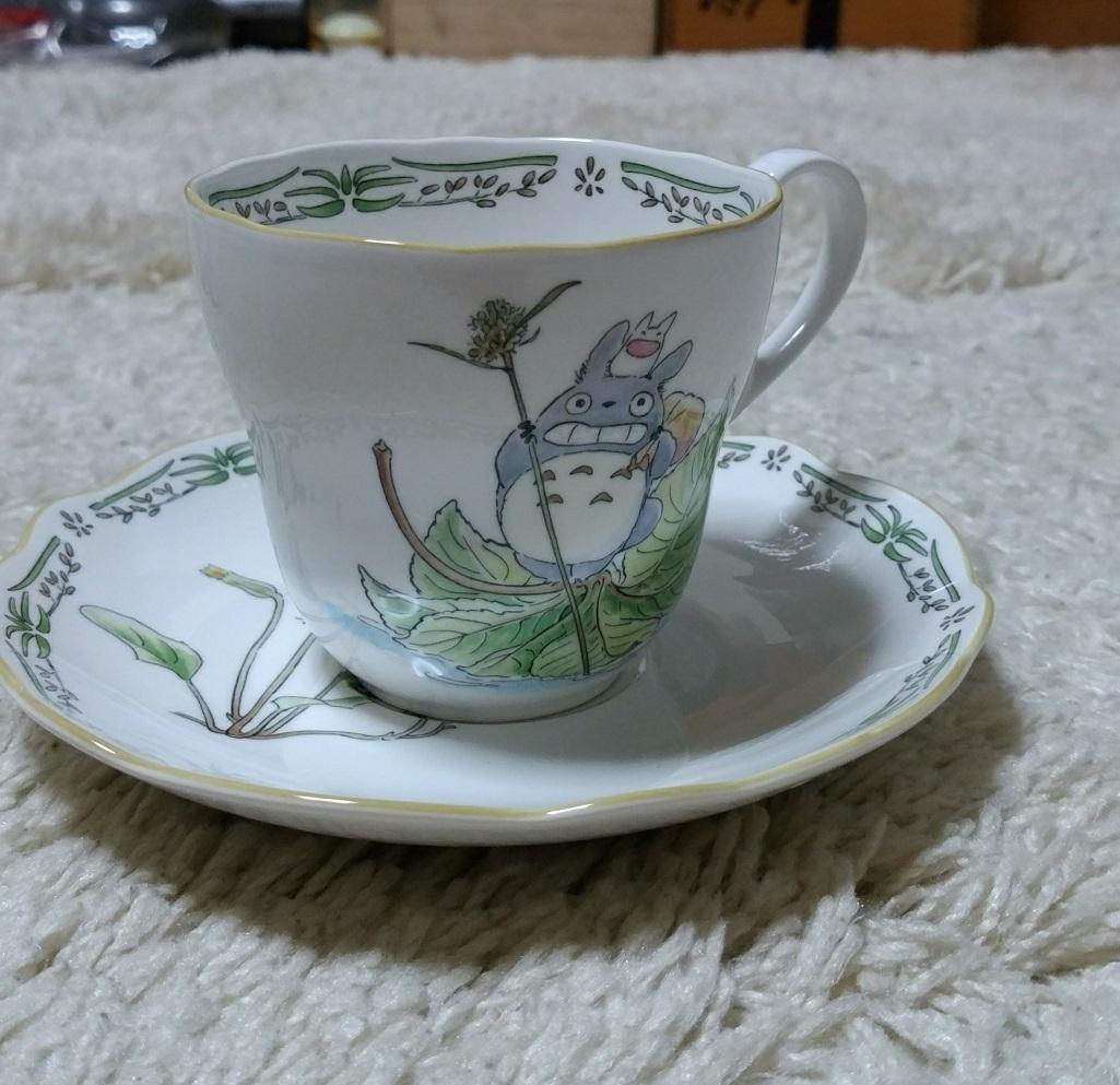 ■ノリタケ となりのトトロ 珈琲カップ&ソーサー コーヒーカップ&ソーサー 極上美品 マグカップ_画像2