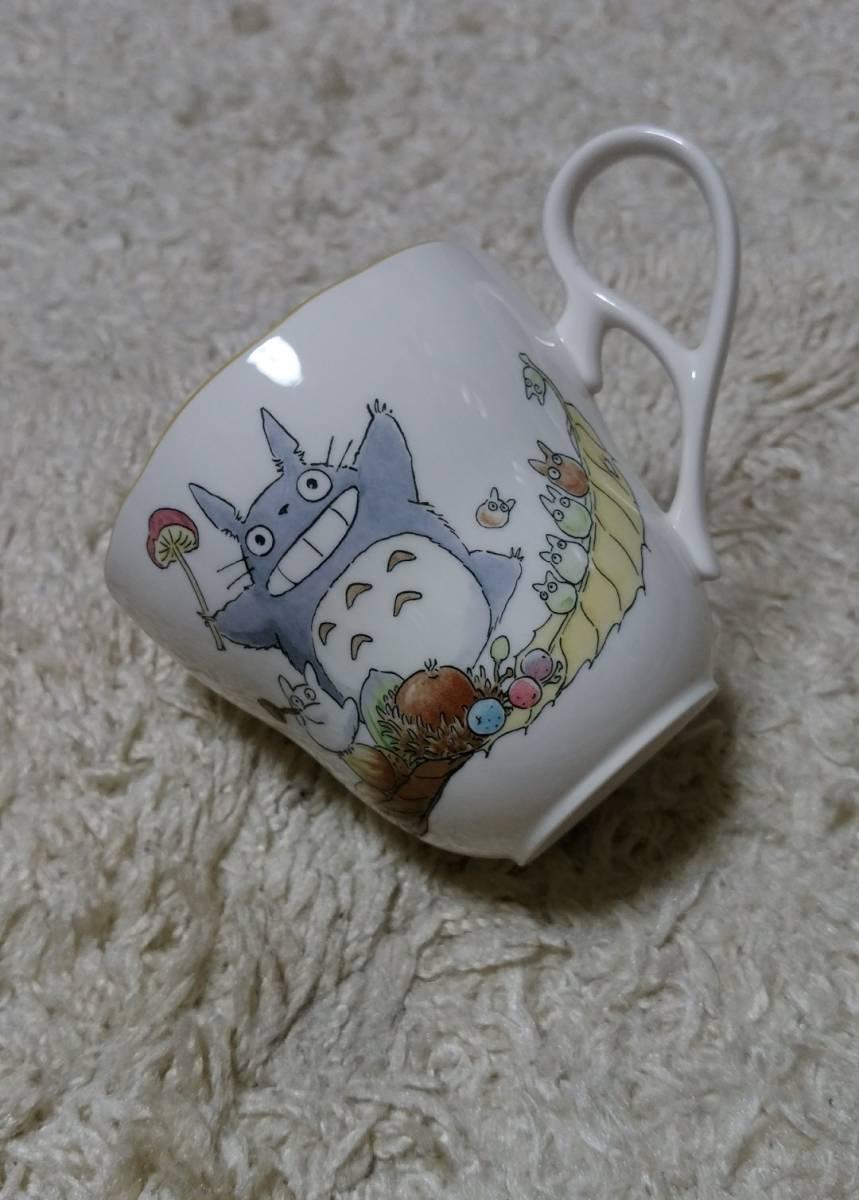 ■ノリタケ となりのトトロ 珈琲カップ&ソーサー コーヒーカップ&ソーサー マグカップ 極上美品 _画像3