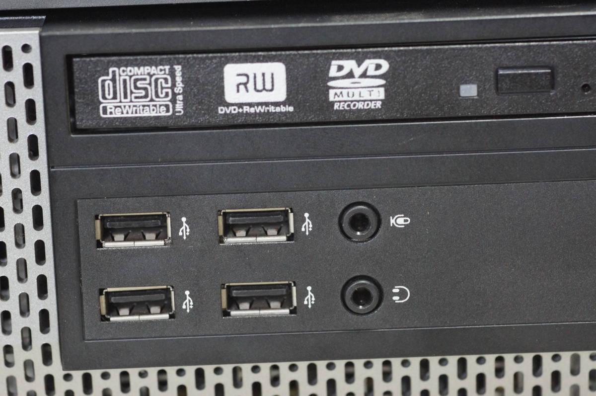※【送料込】 OptiPlex990SFF Core i7-2600 8GBメモリ 動作確認済 ⑤_画像3