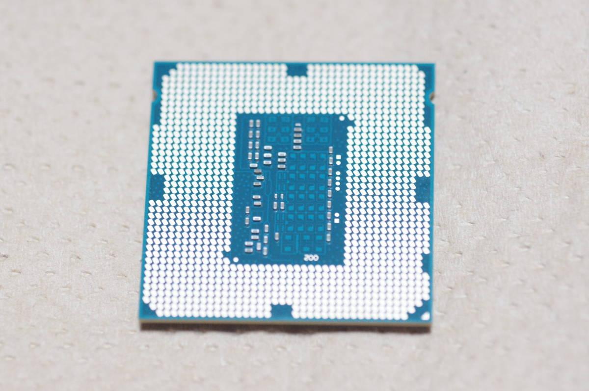 ※【送料込】Core i7 4770 SR149 3.40GHz Haswell FCLGA1150ソケット 動作確認済_画像2