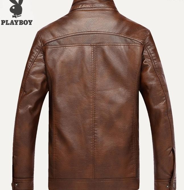 100%上層牛革レザーオートバイジャケット 高級感満載 高品質 本革 ライダースジャケット メンズ 紳士 上着_画像2