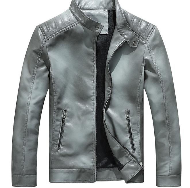 紳士 上質羊革 100%シープスキン本革ジャケット メンズショートコート スポーツ レジャー レザーウエア アウター ワインレッド3