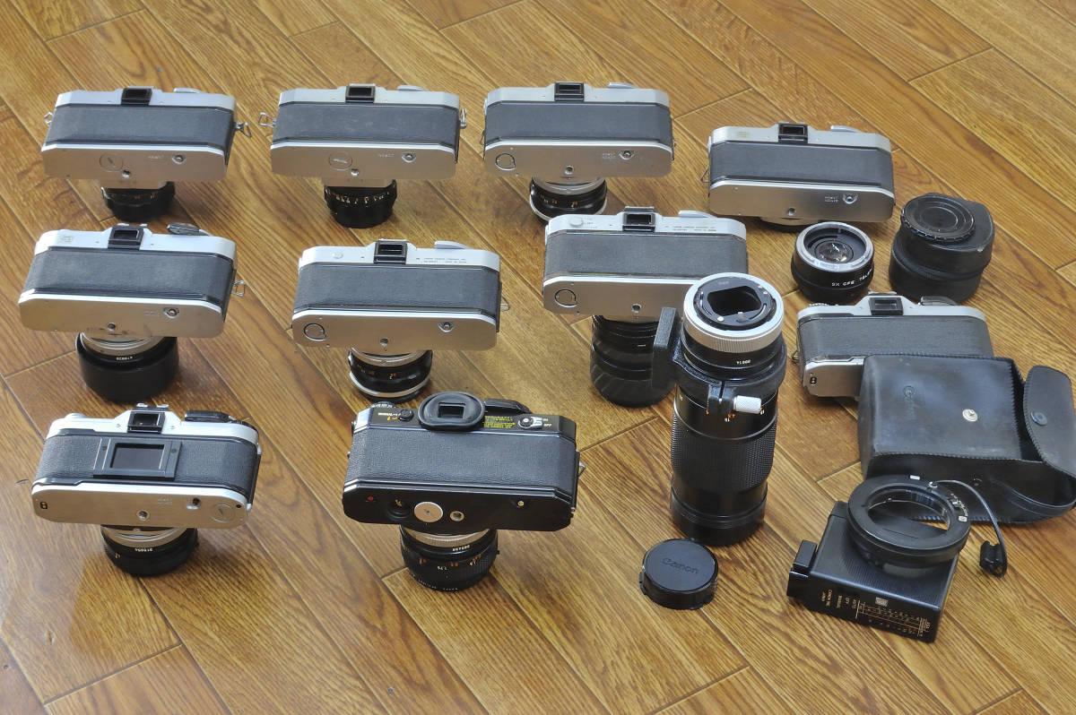 ジャンク品 Canon EF・AE-1・FTb等 ボディ10台  レンズ9本他まとめて_画像5