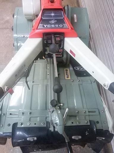 ヤンマー YANMAR  耕運機  YC650  6.5馬力ディーゼル 管理機 美品_画像4