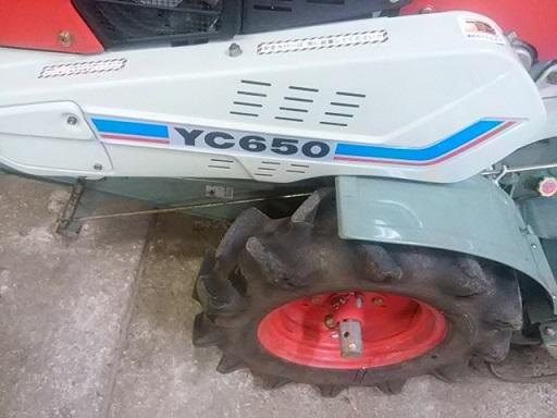 ヤンマー YANMAR  耕運機  YC650  6.5馬力ディーゼル 管理機 美品_画像10
