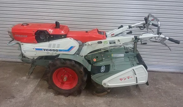 ヤンマー YANMAR  耕運機  YC650  6.5馬力ディーゼル 管理機 美品