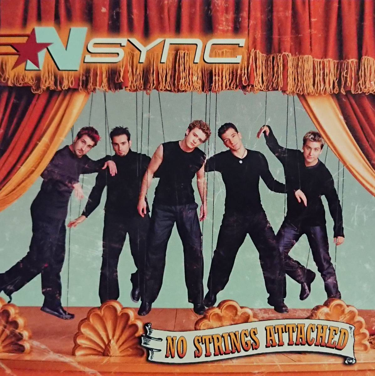 'NSYNC(イン・シンク)/NO STRINGS ATTACHED ※'00年盤_画像1
